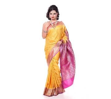 Nondini Katan Saree With Blouse Piece
