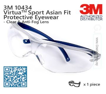 Virtua Sport Asian Fit 3M Protective Eye wear 10436