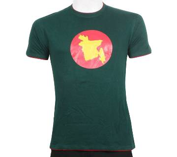 victory day special gents half sleeve t-shirt