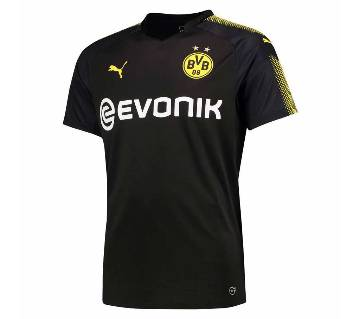 Dortmund 2017-18 Away Half Sleeve Jersey