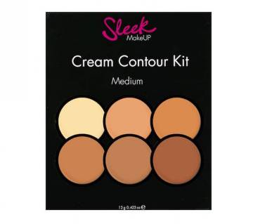 Sleek Cream Contour Kit In Medium