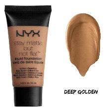 NYX Stay Matte But Not Flat Liquid Foundation  Shade- Deep Golden UK