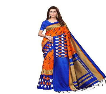 DESIGNER Silk Saree with Blouse Piece