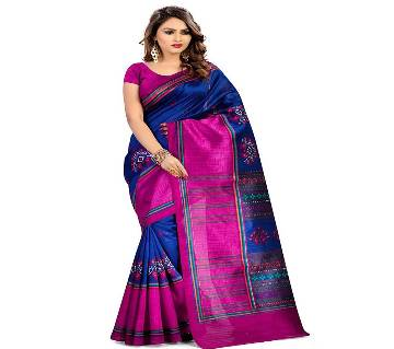 Bhagalpuri  Womens Kora Silk Saree With Blouse Piece