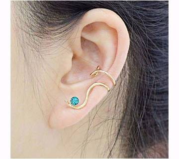 Stone setting ear ring