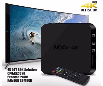 MXQ PRO Android 1GB UHD 4K Smart TV Box