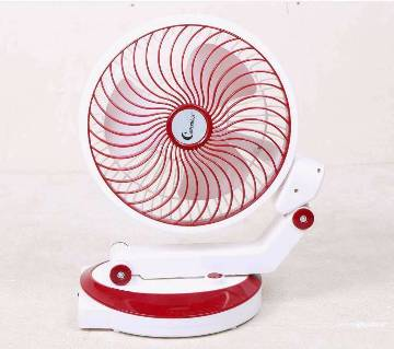 SUPERMOON Rechargeable table fan with light
