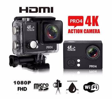 "Pro4 4K 2.0"" LCD WIFI Action Camera"