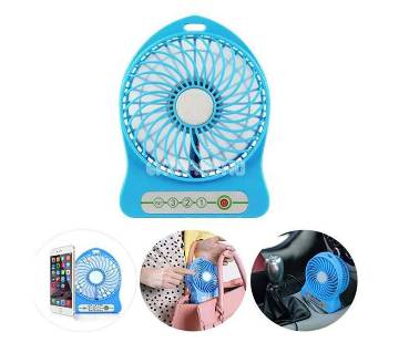 Rechargeable USB Fan With Power Bank