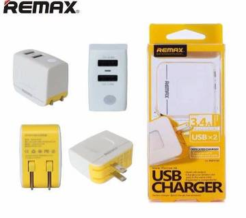 REMAX RMT6188 3.4A 2 USB Charger