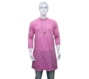 Gents Semi-Long Cotton Punjabi
