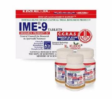 IME-9 Diabetes Tablet-180 Pcs