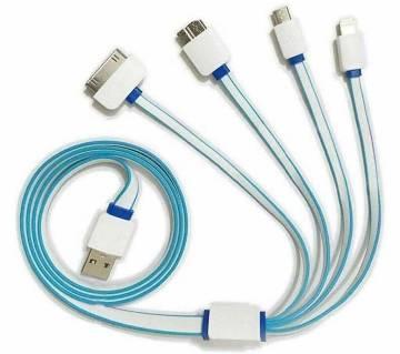 4 in 1 মাল্টি USB চার্জিং ক্যাবল