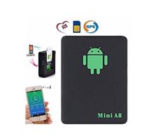মিনি A8 GPS/GSM/GPRS ট্র্যাকিং ডিভাইস - Black