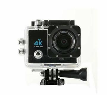 """4K Sports Action Camera 2"""" LCD Display"""