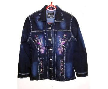 Ladies Long-Sleeve Denim Jacket