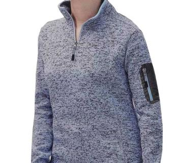 Ladies Knit Fleece Shirt