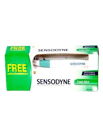 Sensodyne Fresh Gel Toothpaste with Tooth Brush
