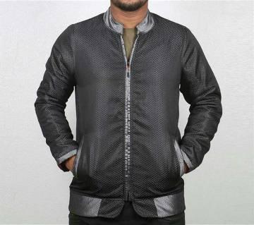 synthetic biker jacket for men