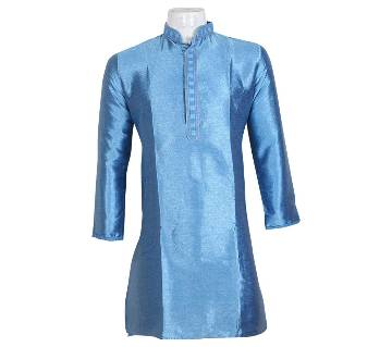 Gents Original Indian Silk Long Panjabi