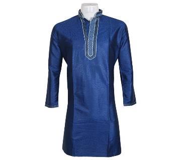 Gents Original Indian Silk Long Panjabi