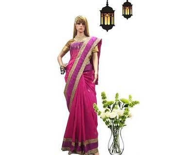 Dhakai Jamdani Half Silk Sharee