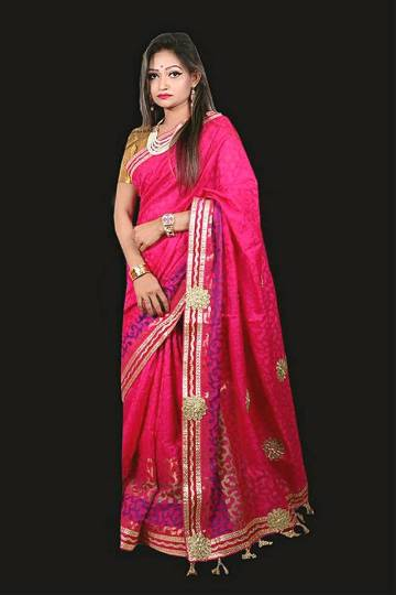 Handloom Jamdani Sharee