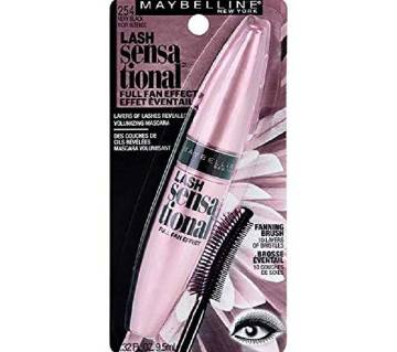 Maybelline Lash Sensational™ Washable Mascara in Very Black,9.5ml USA