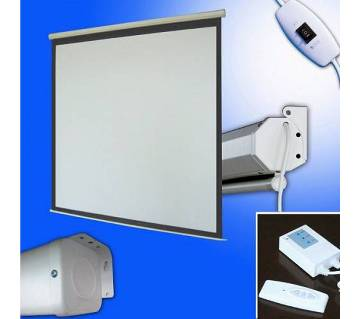 Motorized/Electric Projector Screen 150""