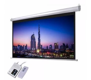 "180"" Electric/Motorized Projector Screen"