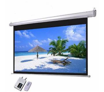 Motorized Projector Screen 96 x 96 Inch