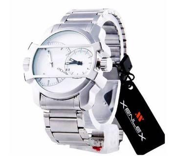 Xenlex dual time gents wrist watch