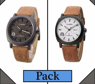 Curren gents watch- 2 pieces combo offer