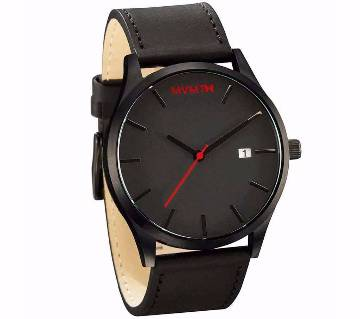 MVMT leather gents watch-copy