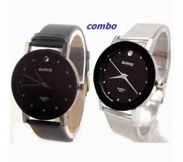 Bariho stainless steel couple wrist watch-copy