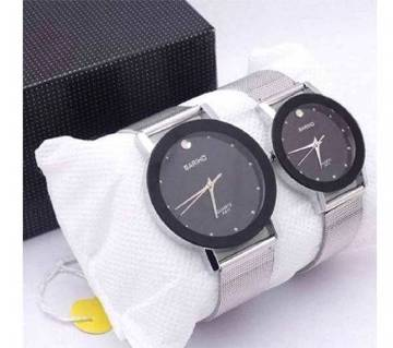 BARIHO stainless steel couple watch- copy