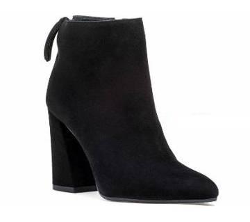 Velvet Ankle Boot For Ladies