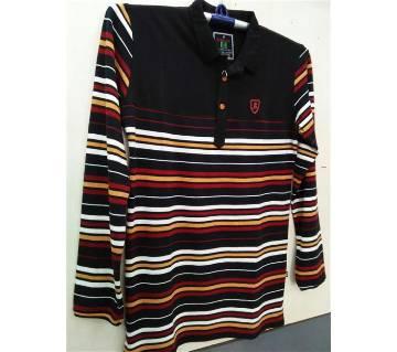 Mens Fulll Sleeve Polo Shirt