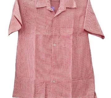 Mens Half Sleeve Cotton shirt