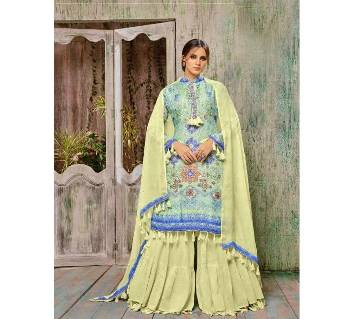 Unstitched Rijwana Muslin Silk Suits