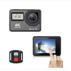 Ultra HD Dual screen 4K WIFI একশন ক্যামেরা 30m waterproof 2.0 Inch 170D 1080p 60fps Sport Cameras Remote Control