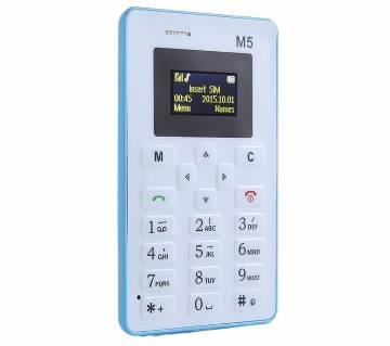AIKU M5 মিনি কার্ড মোবাইল ফোন
