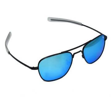 Black Frame Blue Shade Sunglasses for Men