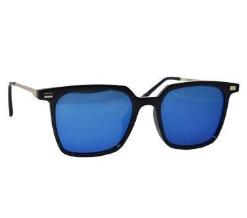 Plastic Frame Blue Shade Sunglasses for Men