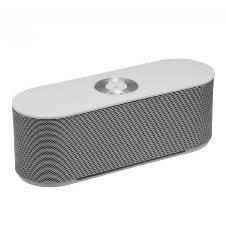Mini Portable Bluetooth Soundbox Speaker S207 with Hifi Stereo - Silver