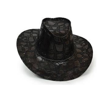 Brown Leather হ্যাট ফর মেন