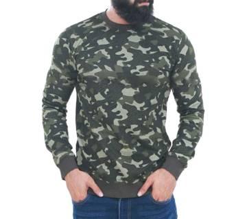 Cotton Long Sleeve Sweatshirts for Men - MST-004