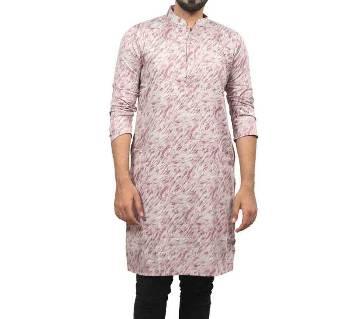 Multi-Color Semi Long Cotton Punjabi