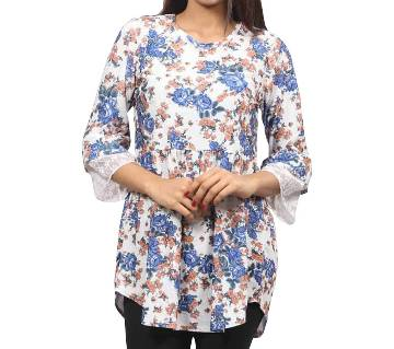 Printed Women Floral Tops