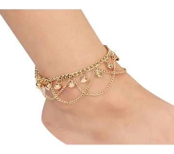 Gold Metal Chain Anklet